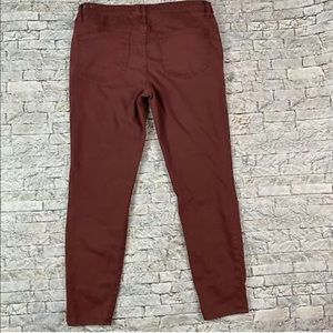 Madewell Skinny Skinny Purple Size 32  Jeans